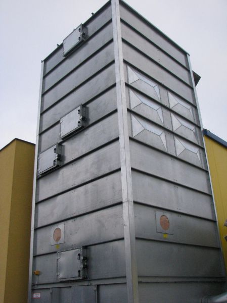 Instalacja odpylania filtr+wentylatory