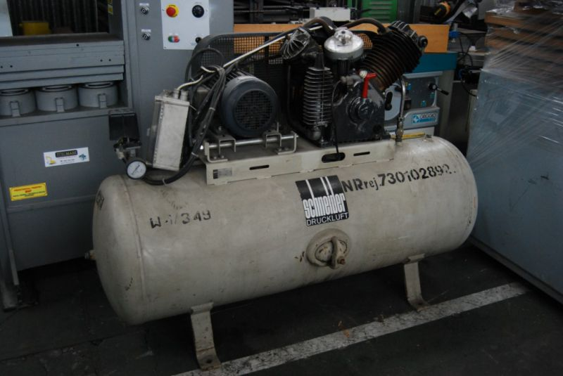 Kompresor Tłokowy, Zbiornik 500L SCHNEIDER