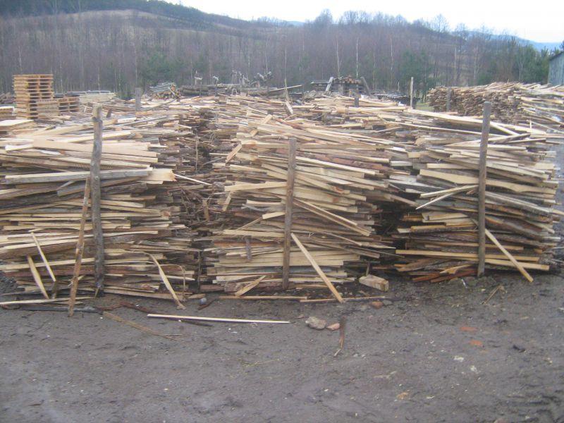 drewno opałowe zrzyna