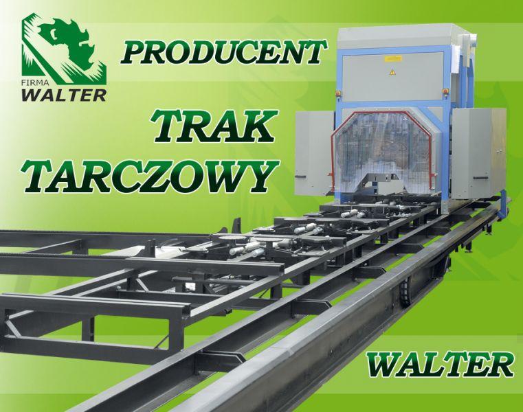 TRAK TARCZOWY PIONOWO-POZIOMY CE WALTER