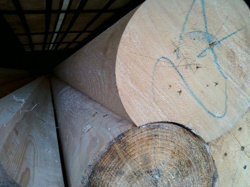 Bale drewniane