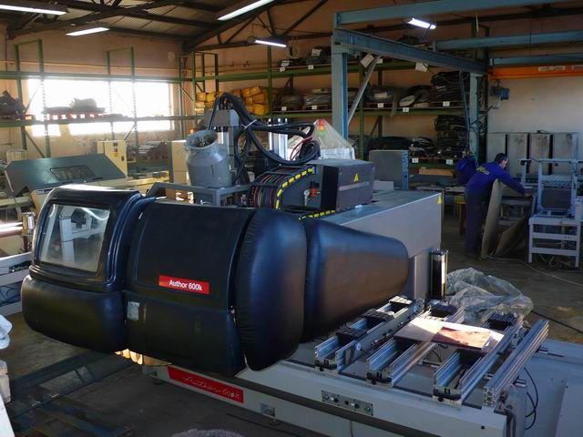 CNC Morbidelli Author 600K - stan BDB