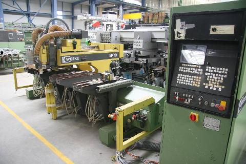 Centrum obróbcze CNC WEEKE BP 10