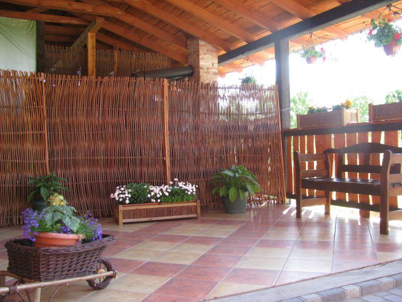 ogrodzenia z wikliny