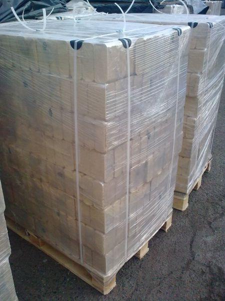 Sprzedam brykiet RUF - I klasa, jasny - 10/960 - 470 zł/t netto
