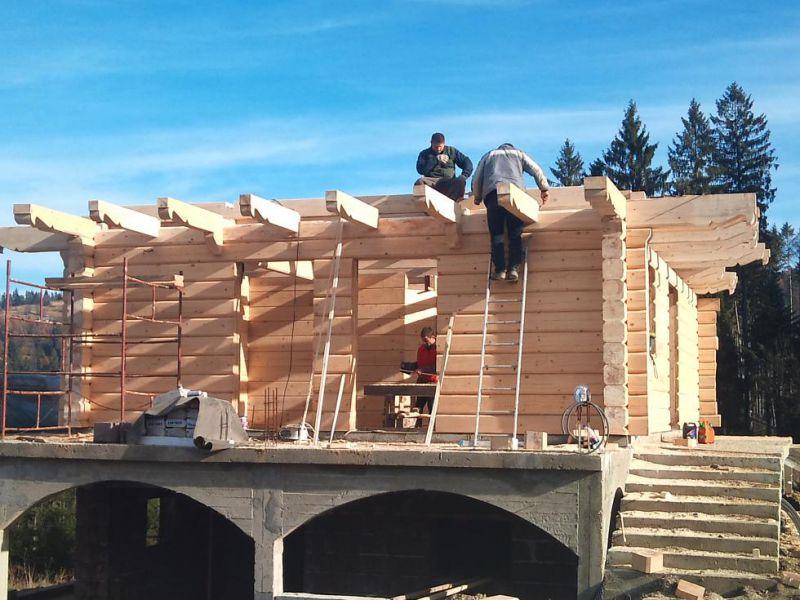 Domy z drewna- bali