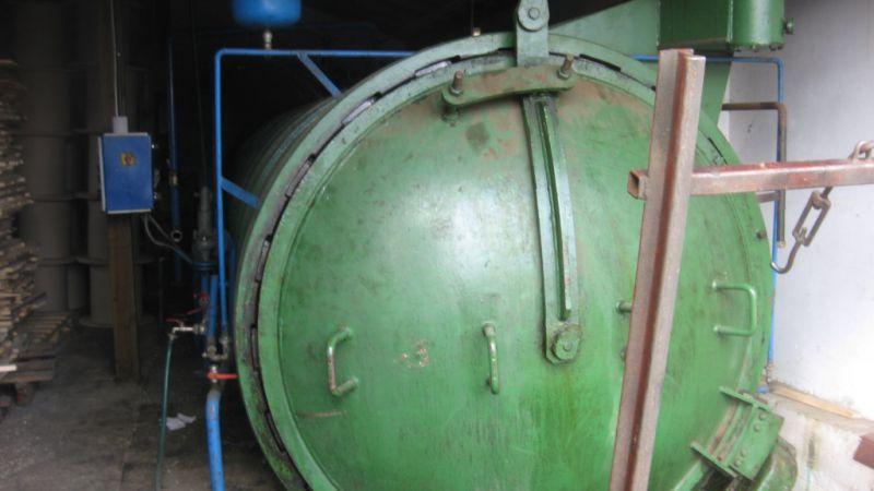 autoklaw do ciśnieniowej impregnacji drewna