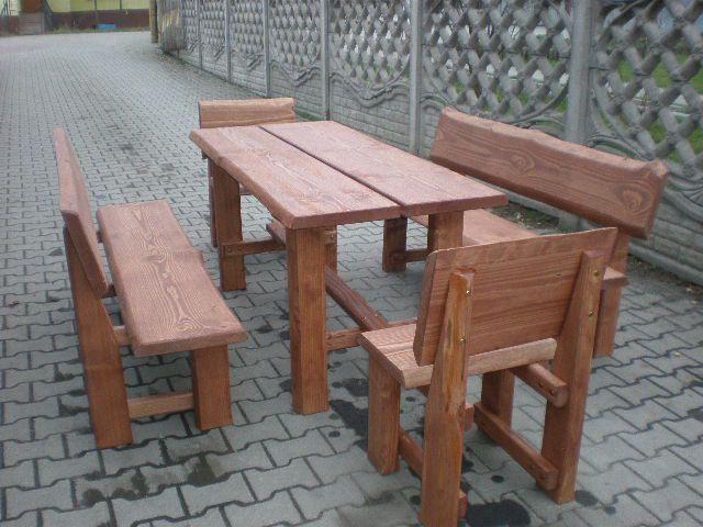 meble ogrodowe, ławki, stoły, krzesła