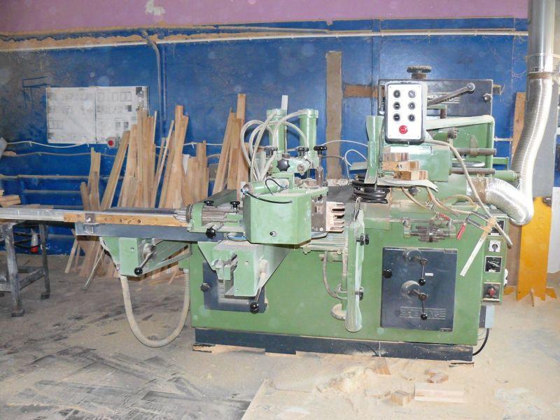 SPRZEDAM  kompletną linię do produkcji okien drewnianych