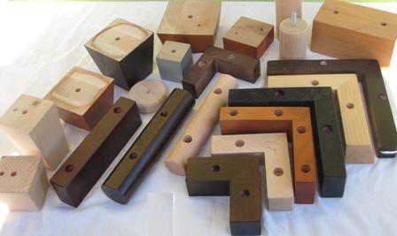 Firma wyspecjalizowana w produkcji drewnianych nóżek pod meble tapicerowane przedstawia oferte