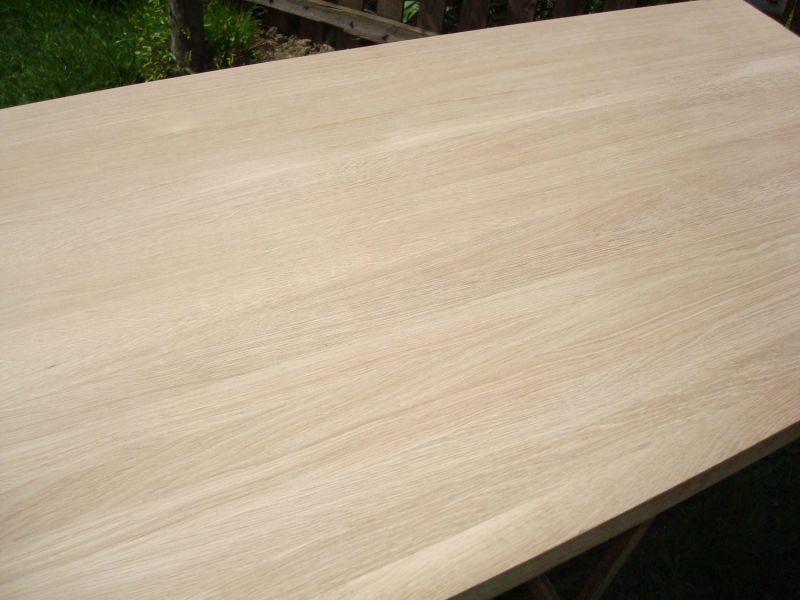 drewniana płyta klejona DĄB BUK lita klejonka