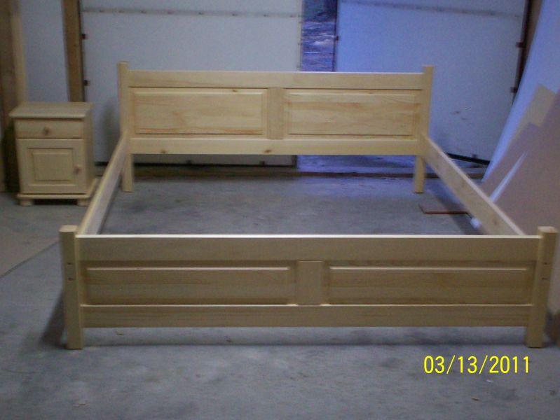 Łóżka meble sosnowe sprzedam