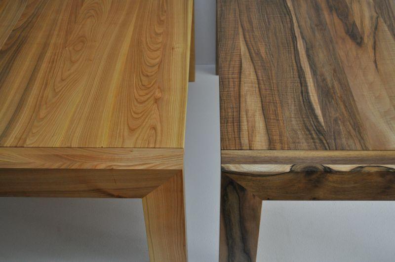 ławy ,stoły ,meble z drewna orzecha europejskiego oraz czereśni