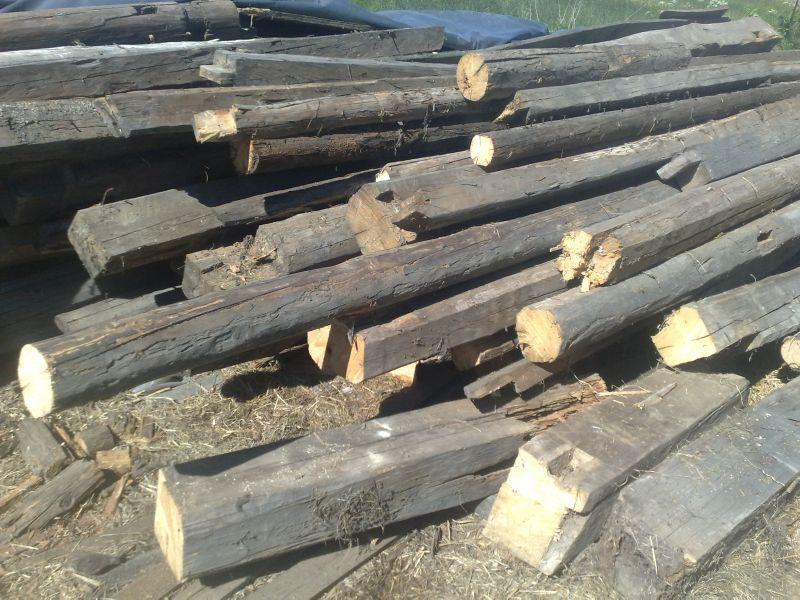 drewno rozbiórkowe: budowlane i opałowe