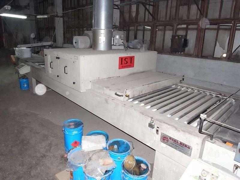 TUNEL SUSZARNICZY UV IST - GIARDINA 1400/3, 1990r.