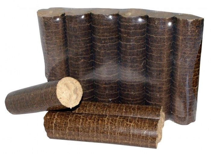 Brykiet liściasty opakowania 10 kg! paleta 1000kg