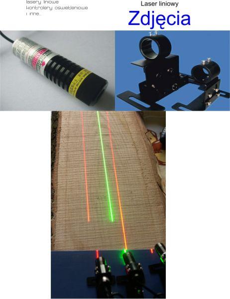 Obróbka drewna: Lasery liniowe 20mW 50mW 100mW