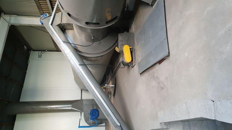 Suszarnie bębnowe model SB 1,5 oraz m829 do suszenia trociny i innych materiałów.