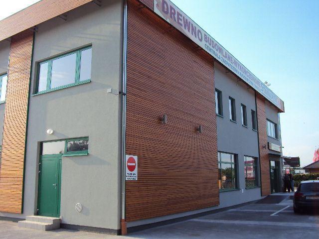 Drewno elewacyjne fabrycznie malowane
