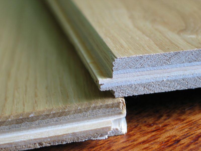 Deska podłogowa dębowa klejona