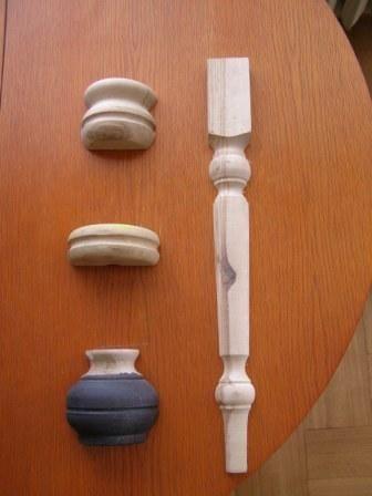 Toczenie elementów drewnianych