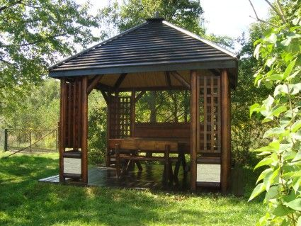 Altany, domki drewniane meble ogrodowe, huśtawki