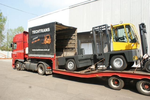 Boczny wózek widłowy Baumann 5 ton - Sprzedam