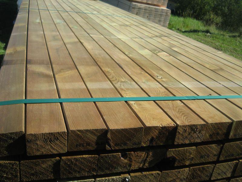 Drewno impregnowane ciśnieniowo pomorskie