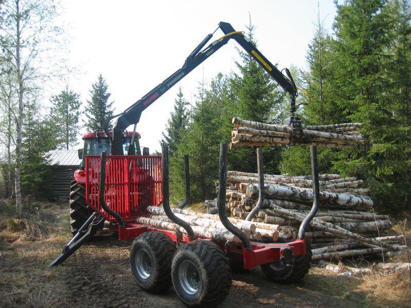 Przyczepa leśna Farmi Forest 10 ton Okazja!!!