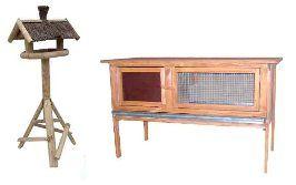 Producent karmników dla ptaków, klatek dla królików