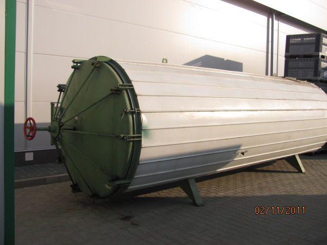 Próżniowa suszarnia do drewna na licencji KRONSEDER typ KVE 1600
