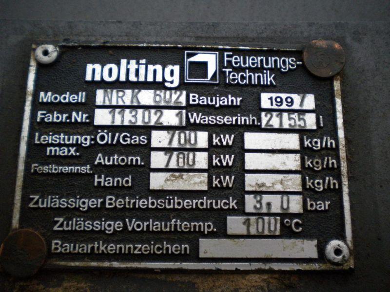 Piec kocioł Nolting NKR602