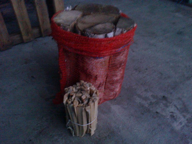 drewno kminkowe worek + rozpałka