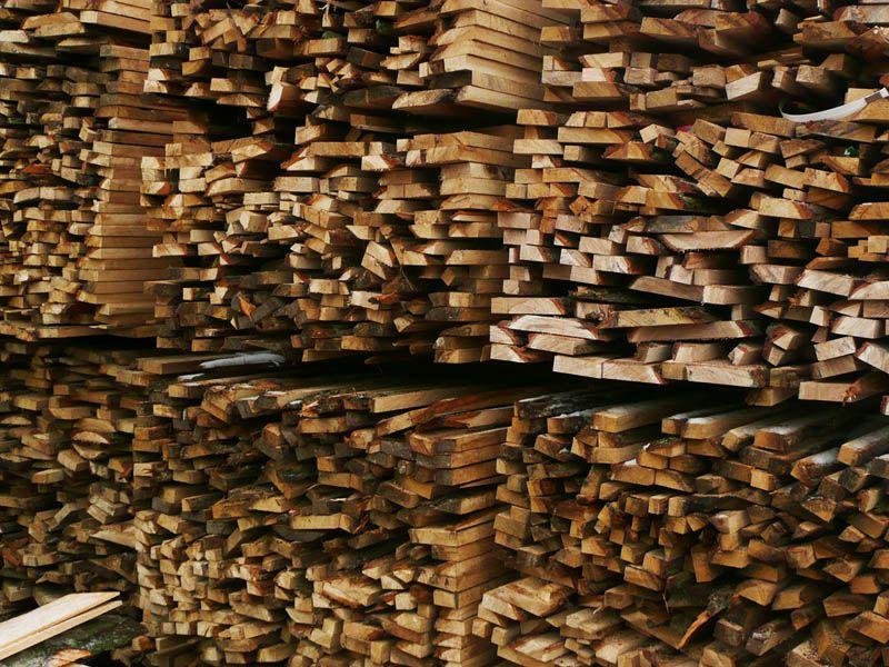 drewno opałowe dębowe, zrzyny dębowe
