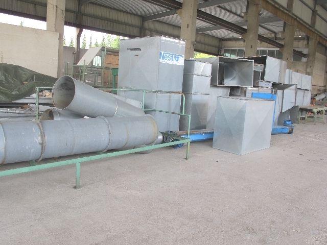 Urzadzenie odciagajace Filtr NESTRO  40 tys m³/h