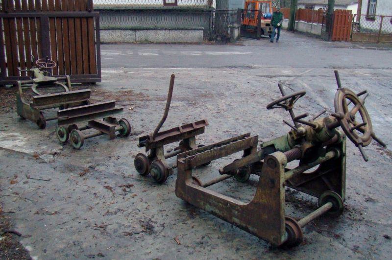 Wózki trakowe LINK OKAZJA!