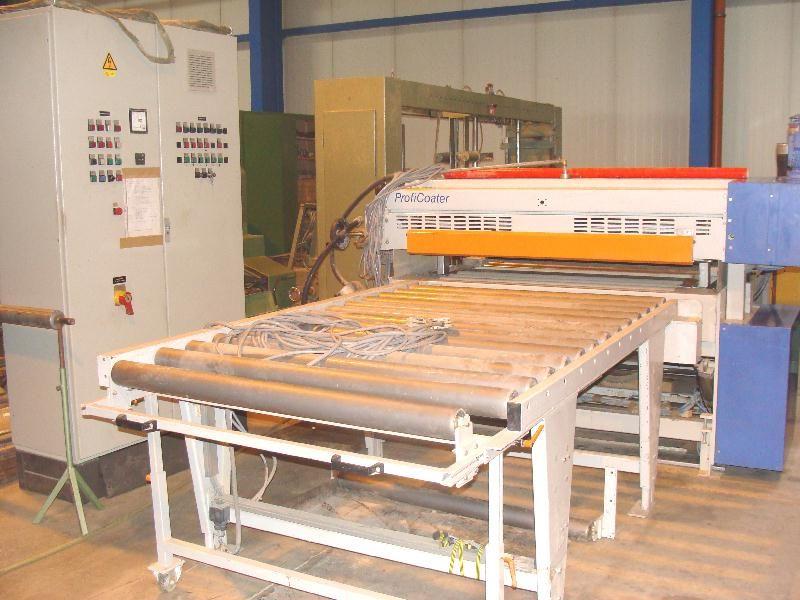 Linia  lakiernicza Hymmen  ProfiCoater z suszarnia UV typ: PFC/1400