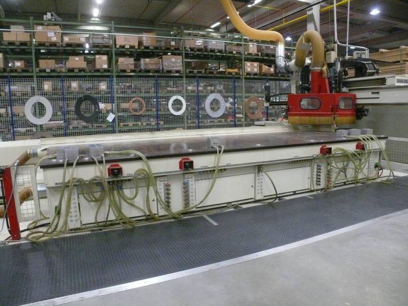 CNC IMA BIMA 810 z okleinowaniem