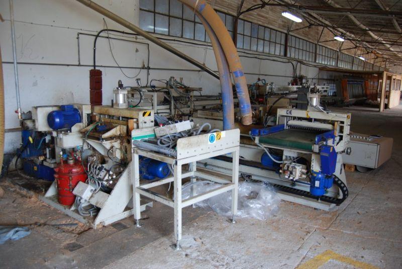 Sprzedam  linię automatyczną do łączenia elementów drewnianych na długość firmy FAMAD-ZETKAMA PACZKÓW model PDF