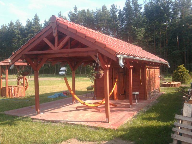 Domki Ogrodowe Projekty Studnie Ogrodowe Domki
