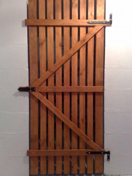 Drzwi piwniczne ażurowe WD-2