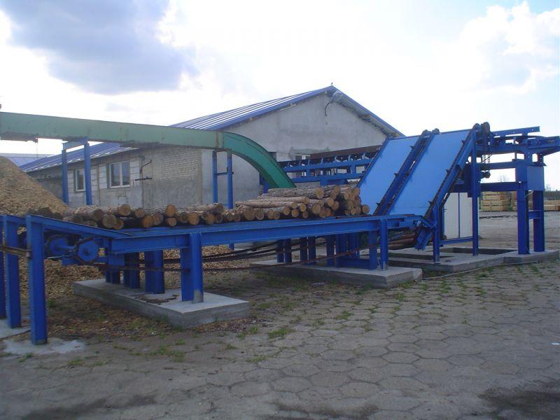 podajnik drewna do traka