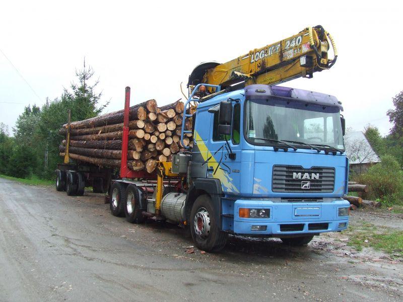 Transport Drewna dluzyca i stos. Podkarpacie i okolice