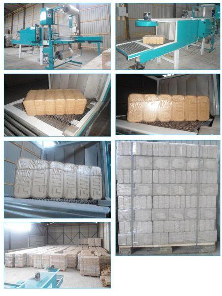 BRYKIET RUF 600 ton miesiecznie.