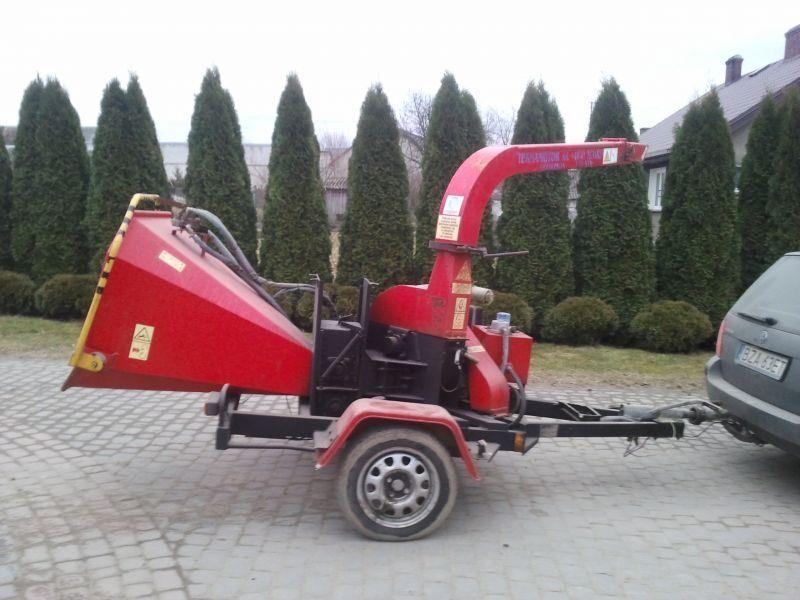 Rębak Skorpion 120 SD silnik diesel, rok 2006