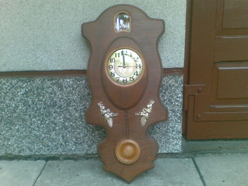 Zegary wiszące Bukowe