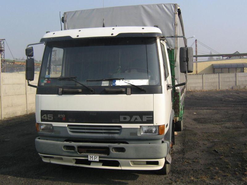 samochód ciężarowy DAF FA 45.210 CS
