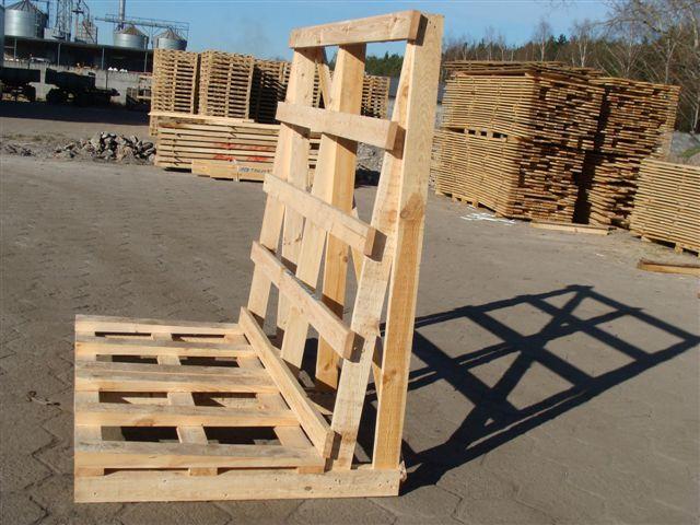 Stojaki drewniane do transportu okien