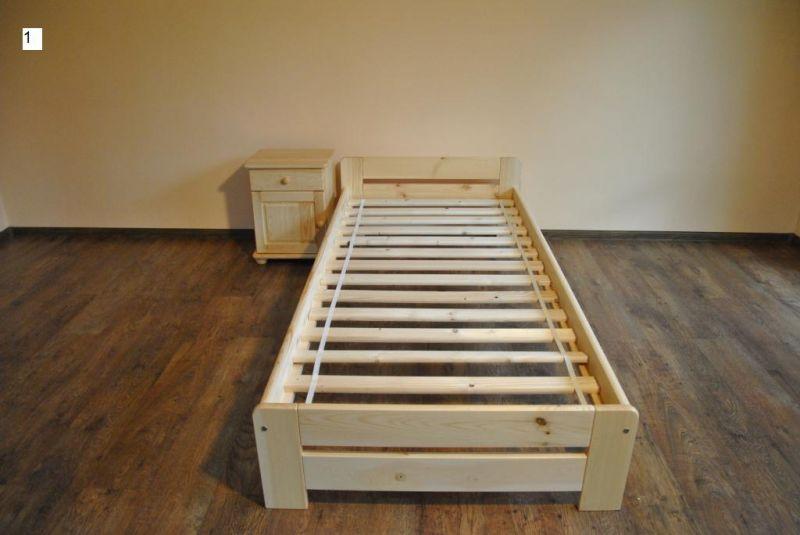 łóżka sosnowe