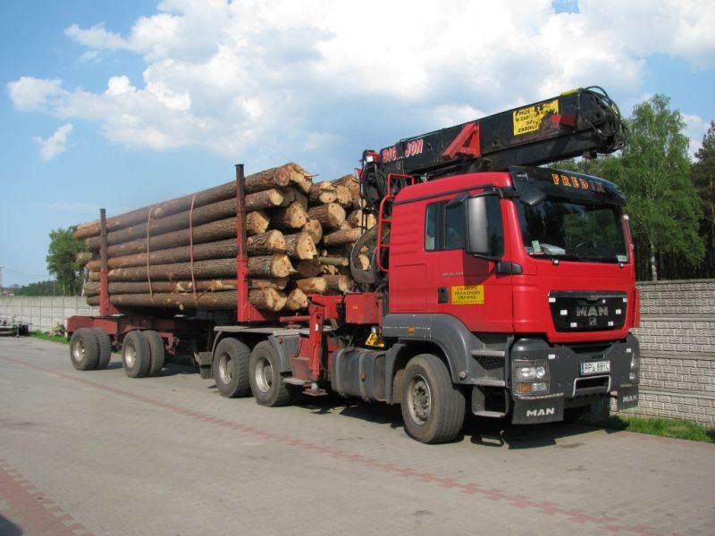 Transport drewna atrakcyjne stawki